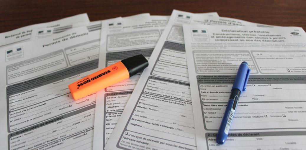 formulaire permis construire