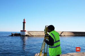 Mesure de la mer pour l'anniversaire de l'ordre des géomètres-expert